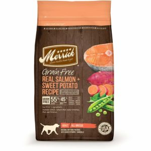 merrick dog food salmon