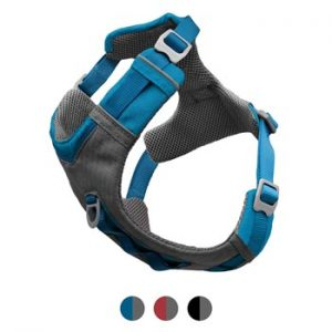 dog harness blue front mount