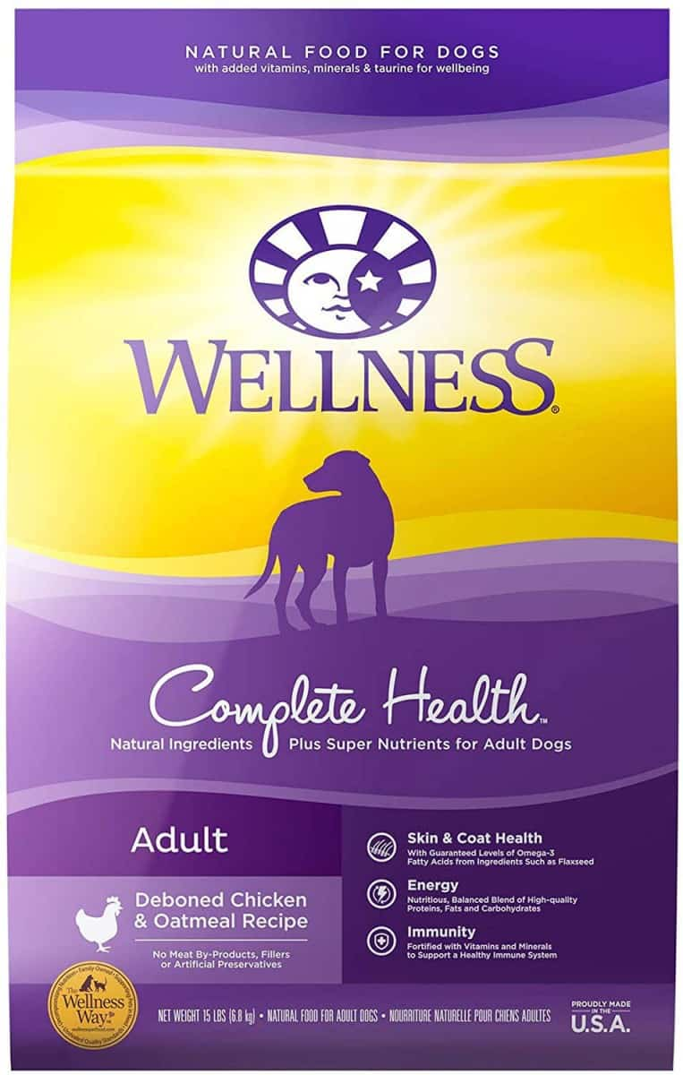Wellness Complete Health Adult Deboned Chicken & Oatmeal
